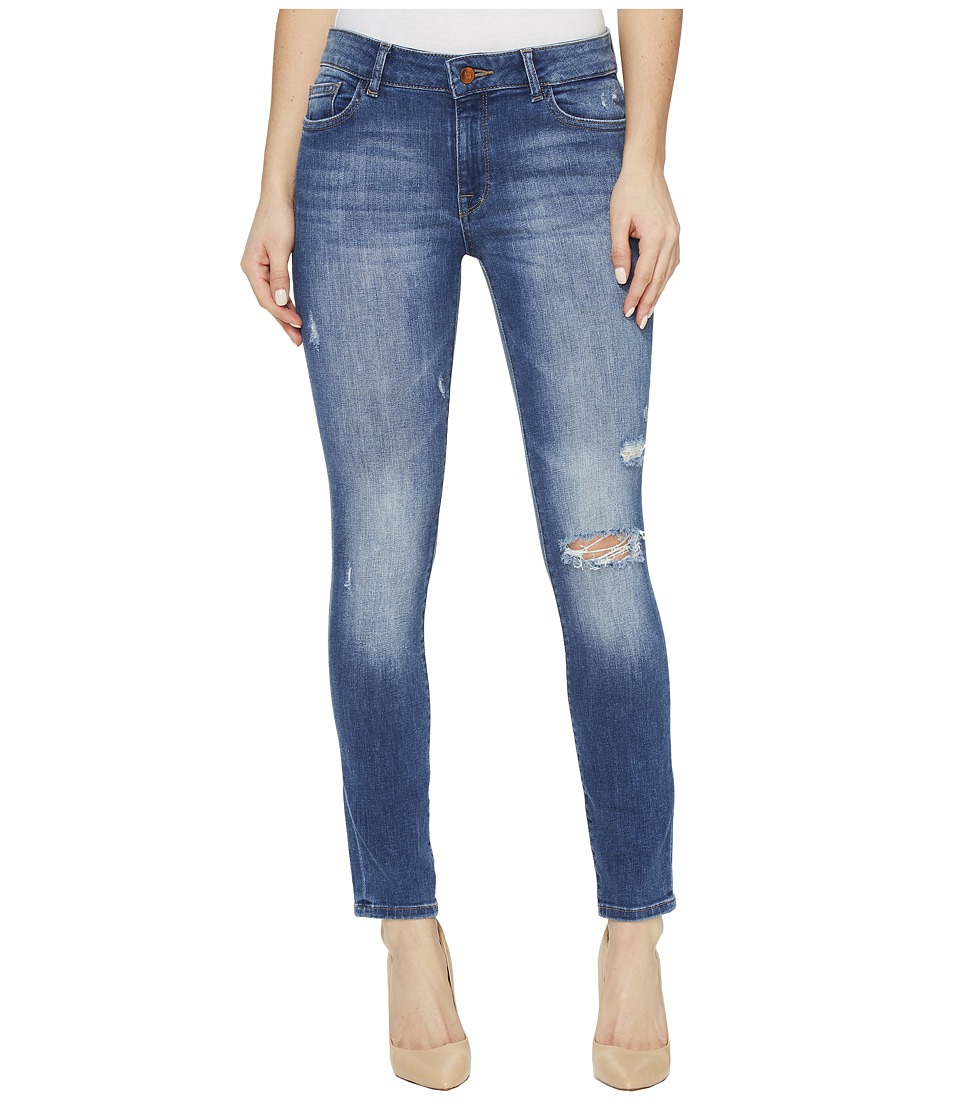 DL1961 - Margaux Instasculpt Ankle Skinny Jeans in Stealth