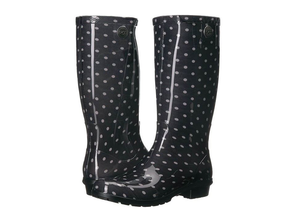 UGG Shaye Polka Dots (Black/White) Women
