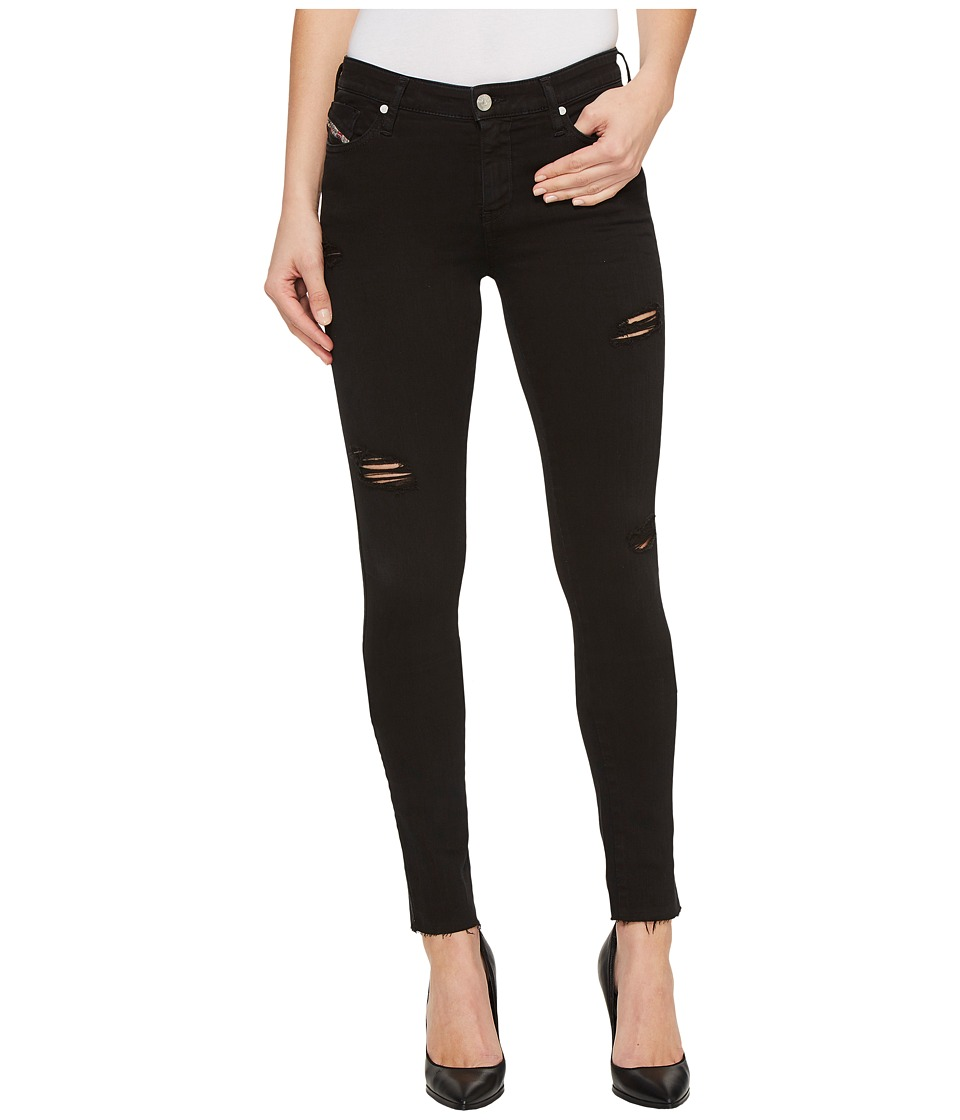 Diesel Skinzee L.32 Trousers 84EX (Black) Women