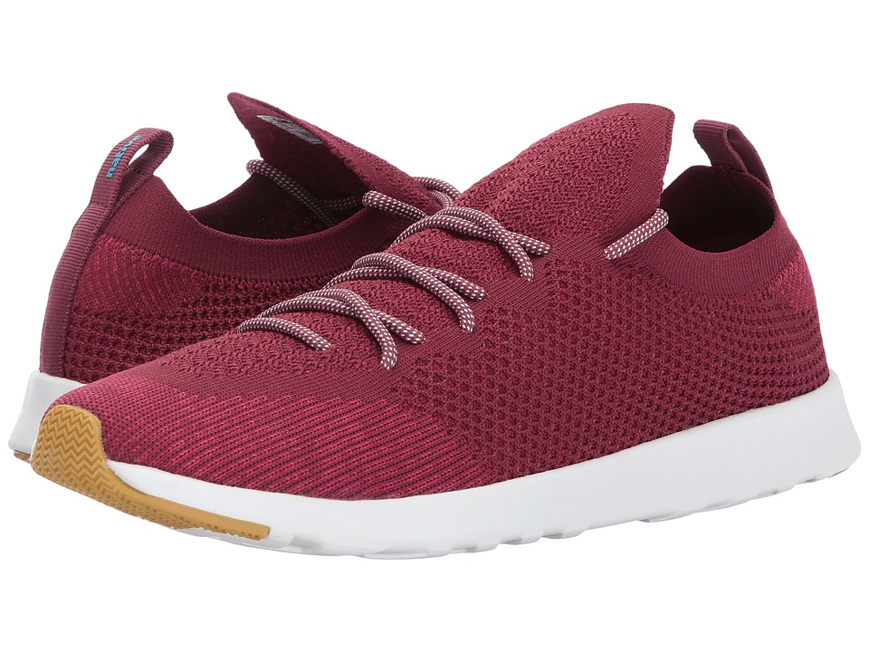 Native Shoes AP Mercury Liteknit (Root Red/Shell White/Natural Rubber) Athletic Shoes