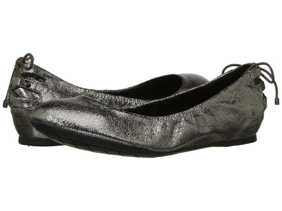 Bandolino - Annabella (Gunmetal Crinkle Metallic PU) Womens Shoes