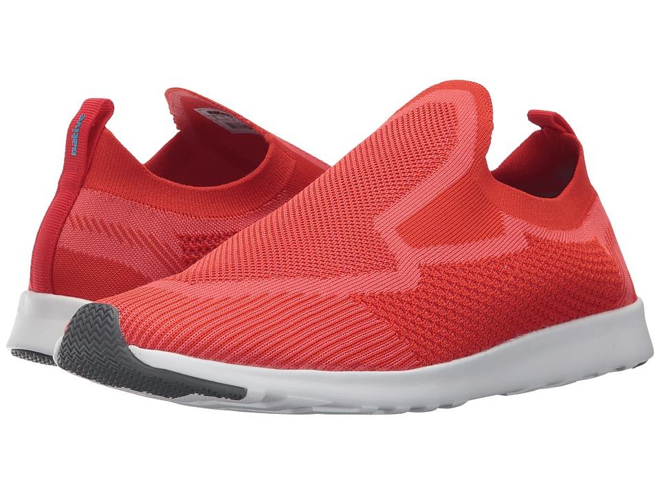 Native Shoes Ap Zenith Liteknit (Torch Red/Shell White/Dublin Rubber) Shoes