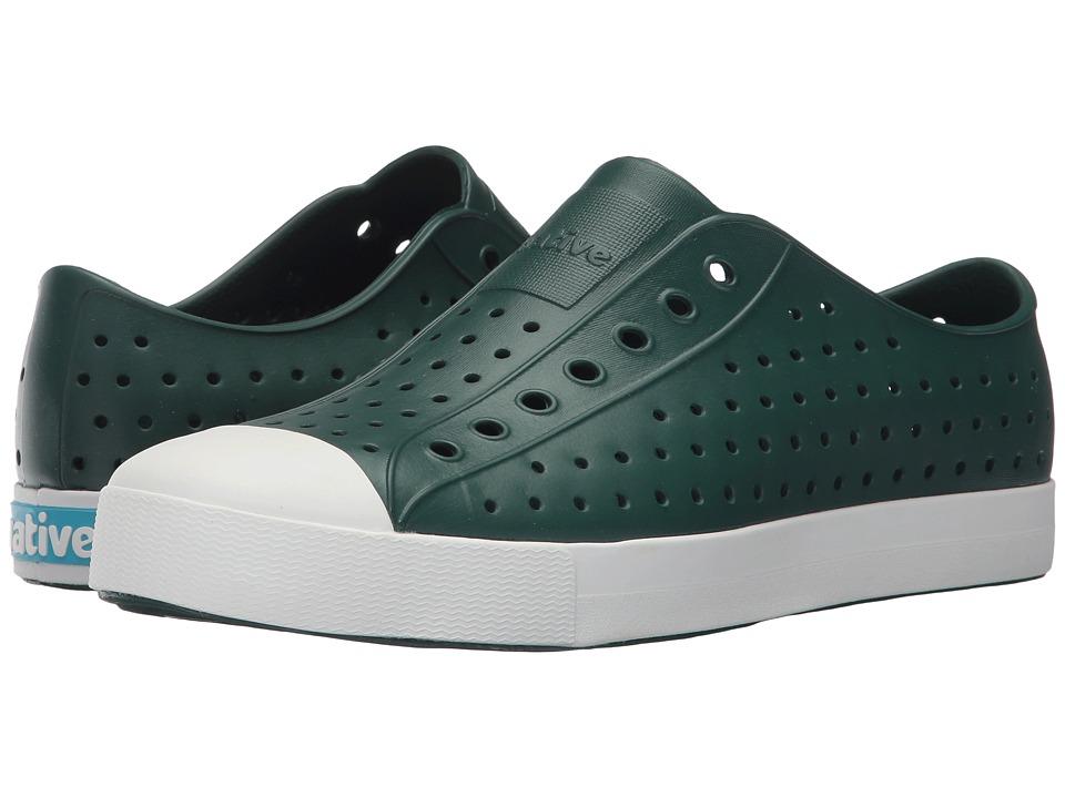 Native Shoes Jefferson (Botanic Green/Shell White) Shoes