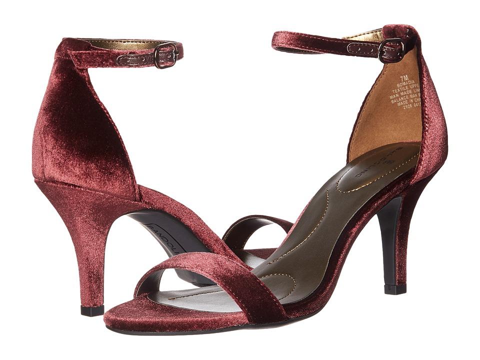 Bandolino Madia (Sangria Velvet) High Heels