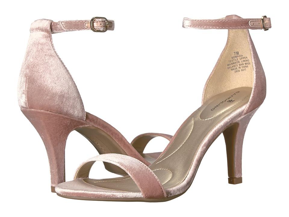 Bandolino Madia (Dark Blush Velvet) High Heels