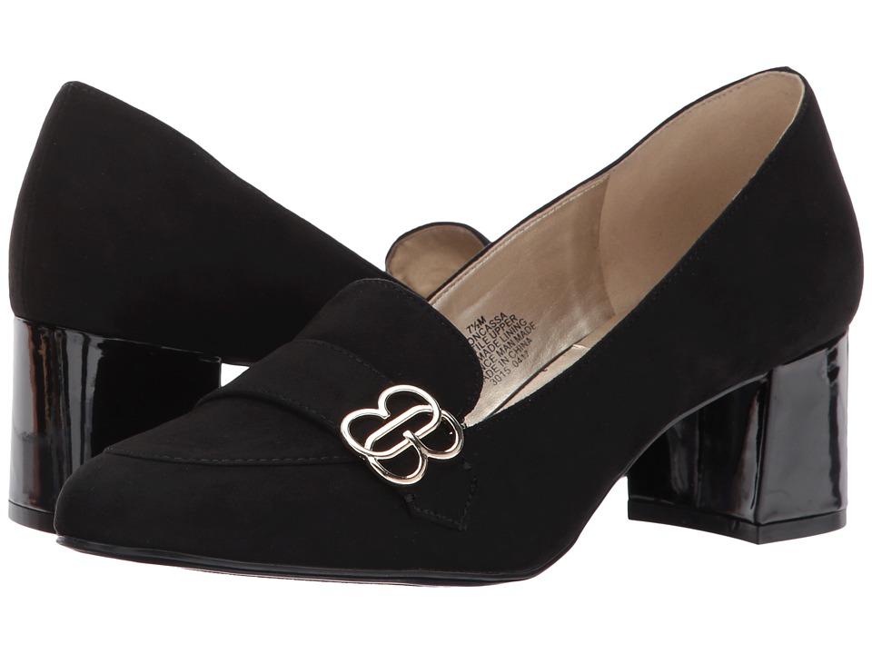 Bandolino - Oncassa (Black Faux Suede) Women's Shoes