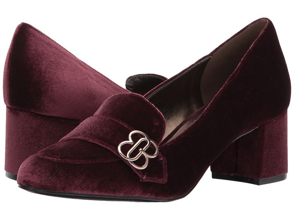 Bandolino - Oncassa (Sangria Velvet) Women's Shoes