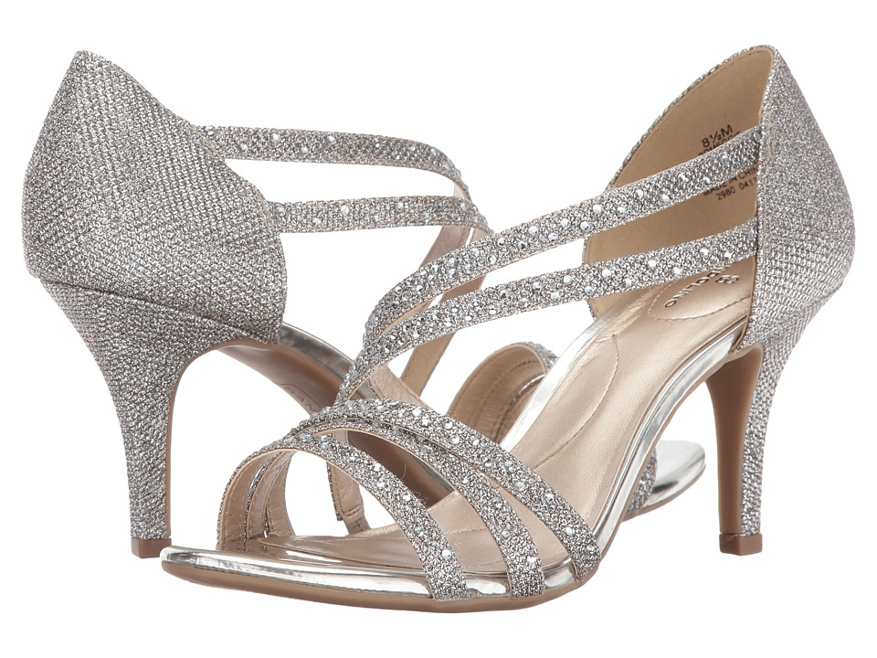 Bandolino - Meggie (Gold Glamour Material) Women's Shoes