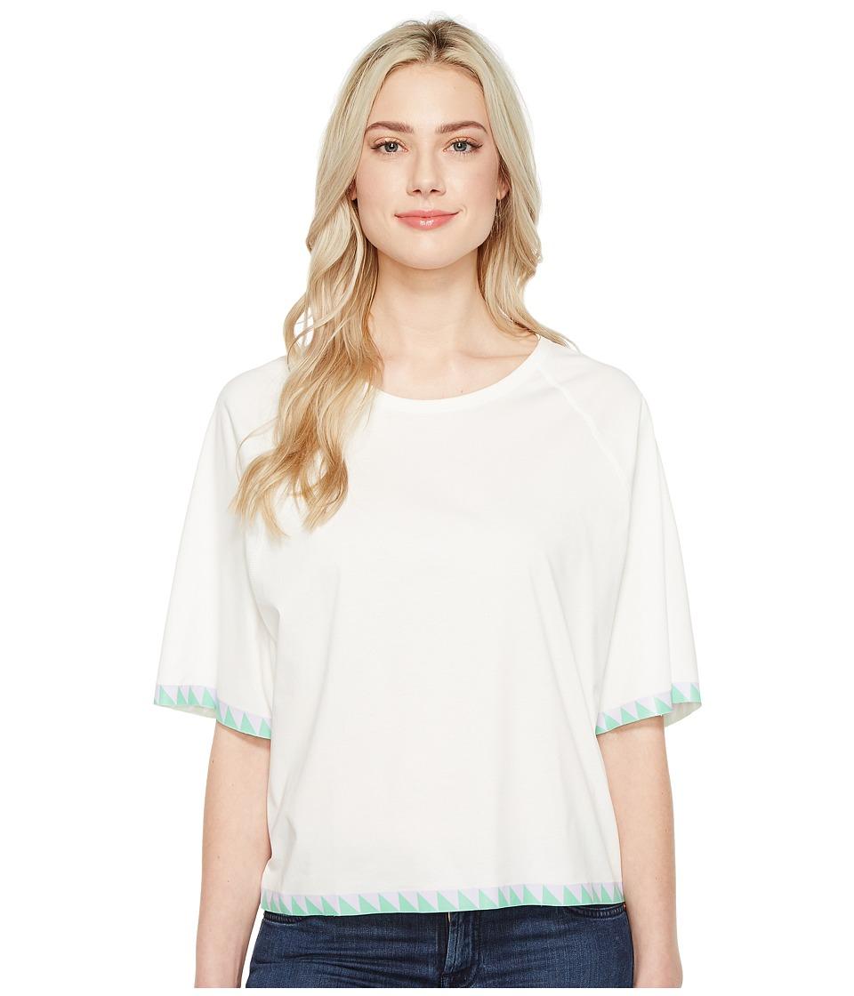 Diesel T-Bren-Short-A T-Shirt (White) Women
