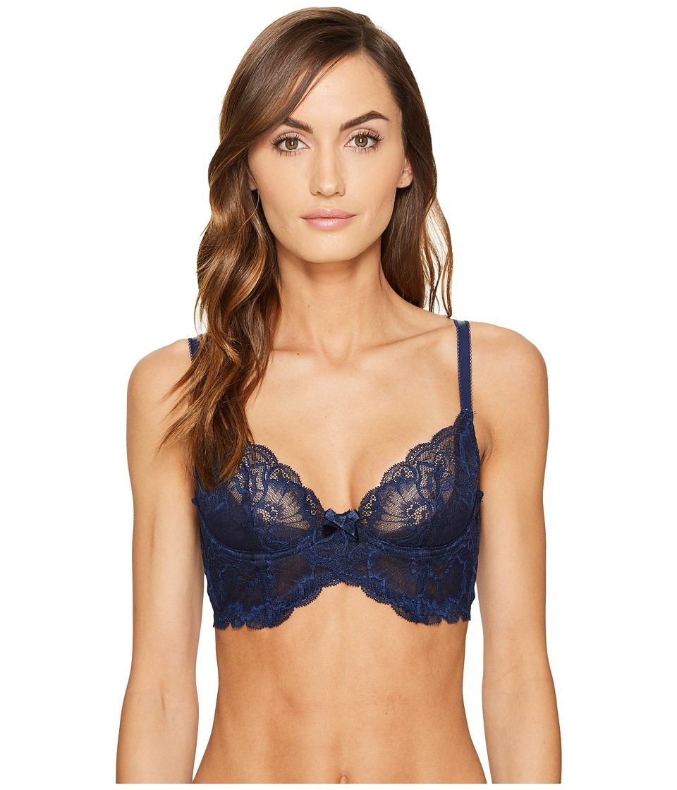 LAgent by Agent Provocateur - Leola Long Line Bra (Midnight) Womens Bra
