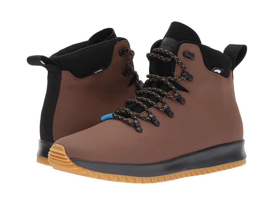 Native Shoes AP Apex CT (Howler Brown CT/Jiffy Black/Natural Rubber) Shoes