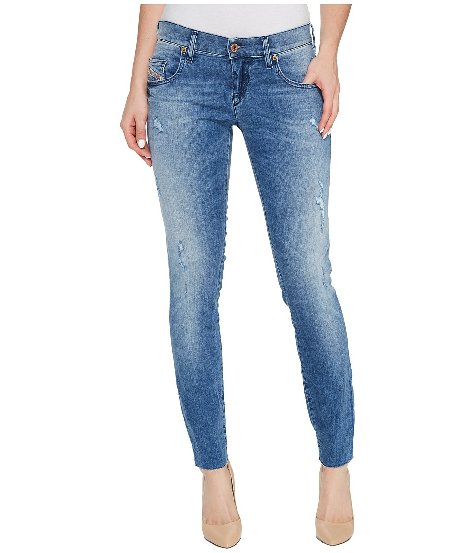Diesel Grupee Ankle-C L.32 Trousers (Denim) Women