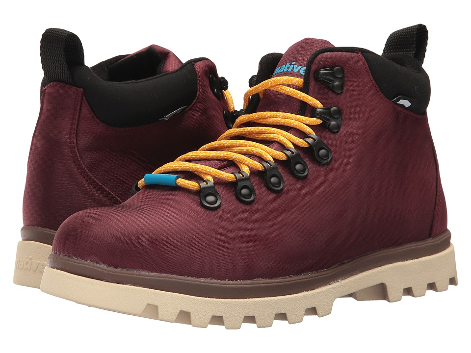 Native Shoes Fitzsimmons Treklite (Spice Red/Howler Brown/Bone White) Shoes