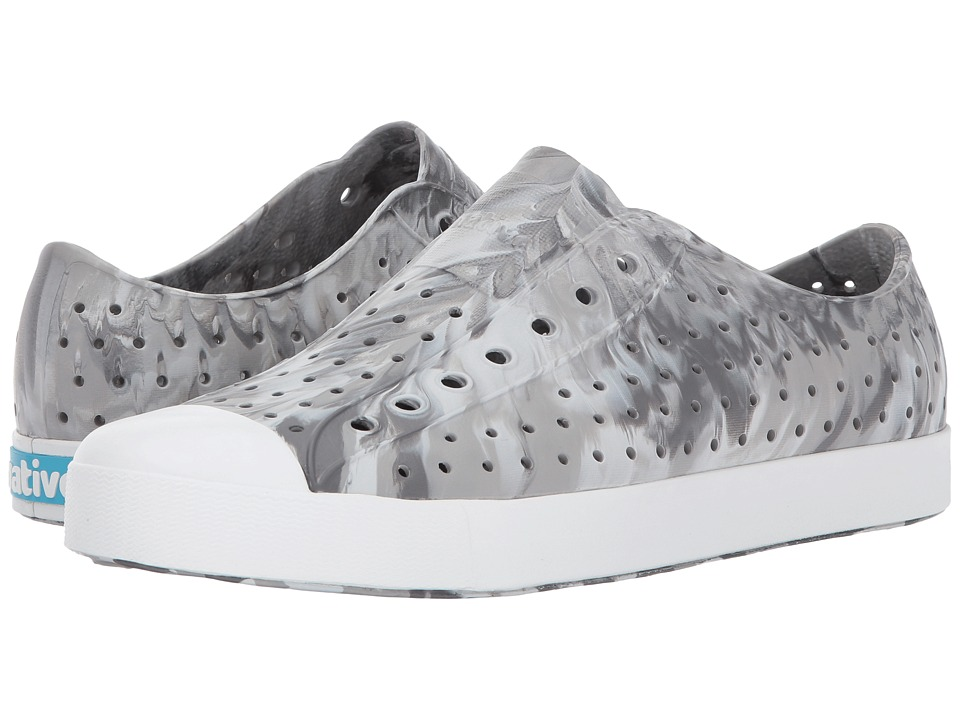 Native Shoes Jefferson (Dublin Grey/Shell White/Marbled) Shoes