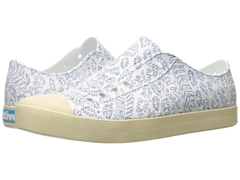 Native Shoes Jefferson (Shell White/Bone White/Matease Print) Shoes