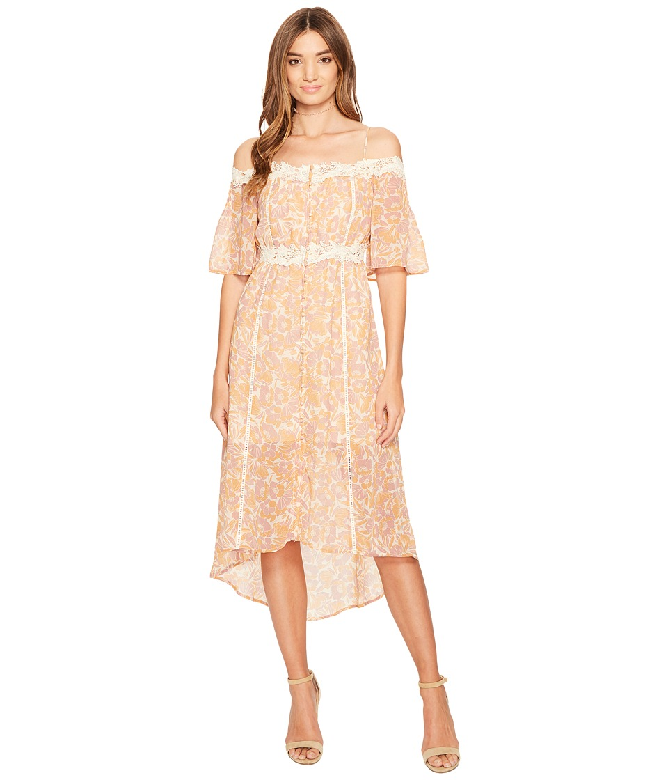 ASTR the Label Simone Dress (Pink/Amber Floral) Women