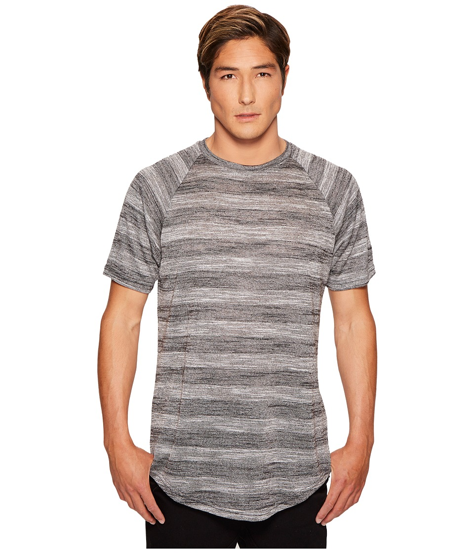 Publish - Koner Raglan Knit T-Shirt (Black) Mens T Shirt