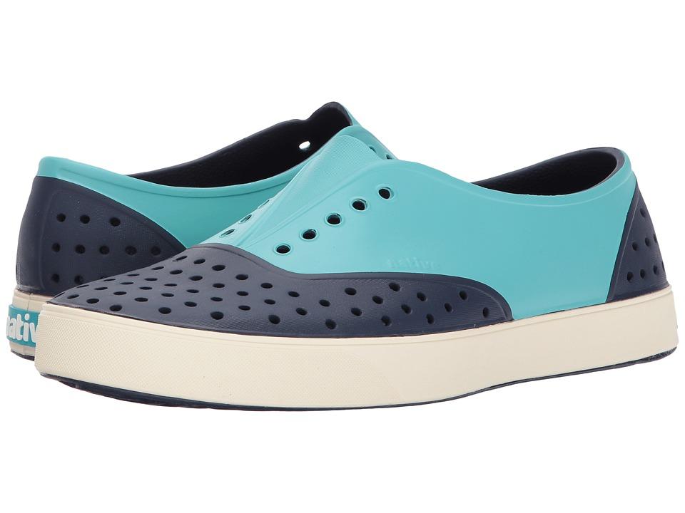 Native Shoes Miller (Regatta Block/Bone White/Pool Block) Slip on Shoes