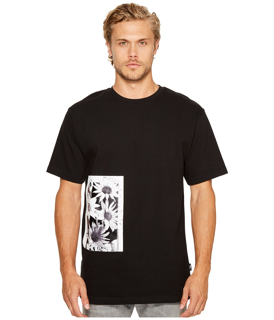 Publish Daisy Page Print T-Shirt (Black) Men