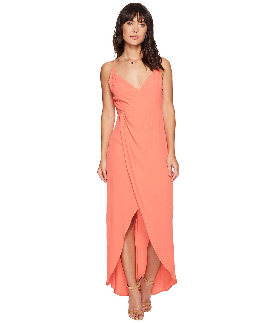 ASTR the Label Penelope Dress (Hot Coral) Women
