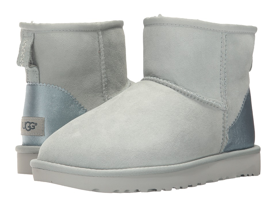 UGG Classic Mini II Metallic (Iceberg) Women