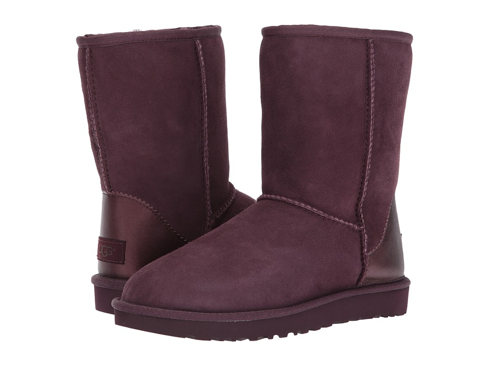 UGG Classic Short II Metallic (Port) Women