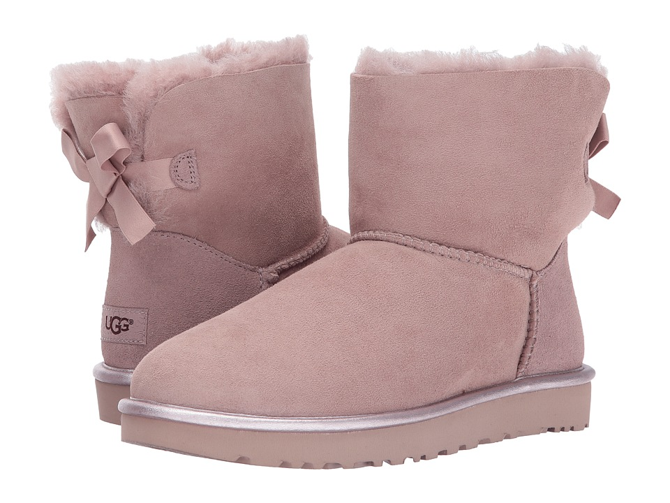 UGG Mini Bailey Bow II Metallic (Dusk) Women
