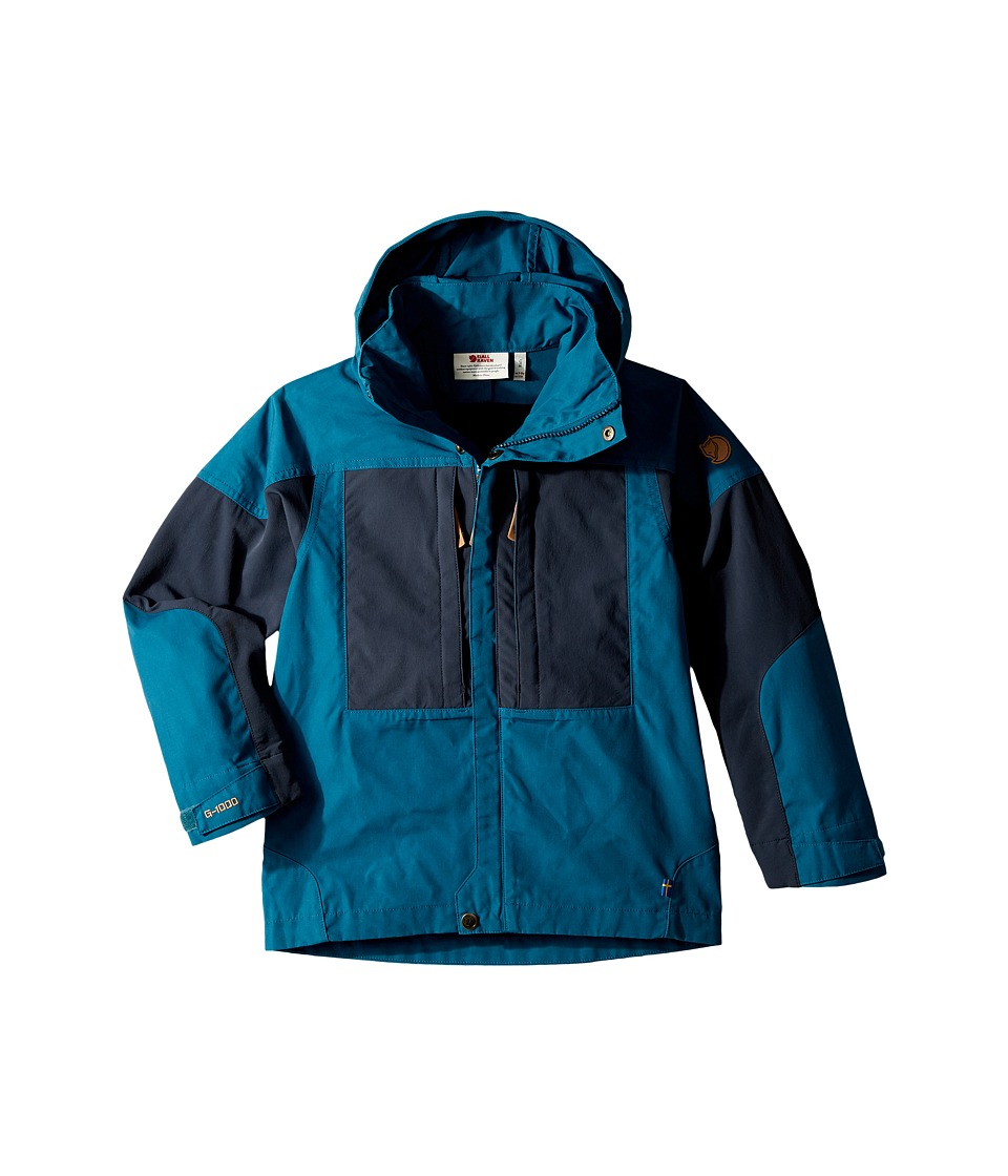 Fjallraven Kids - Kids Keb Jacket (Glacier Green/Dark Navy) Kids Coat