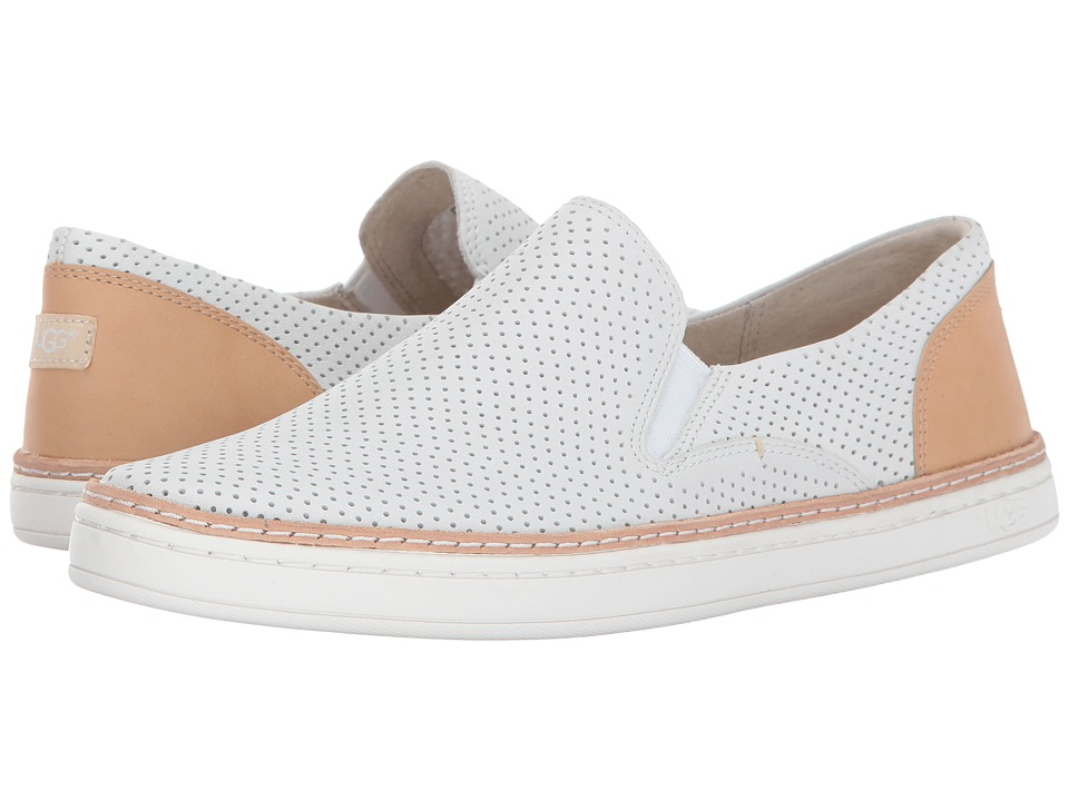 UGG Adley Perf (White) Flats