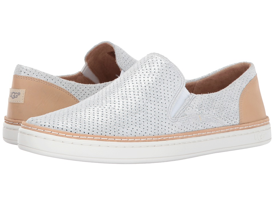 UGG Adley Perforated Stardust (Silver) Slip-On Shoes