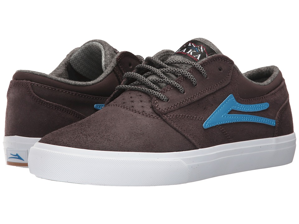 Lakai Griffin Weather Treated (Brown Oilded Suede) Men