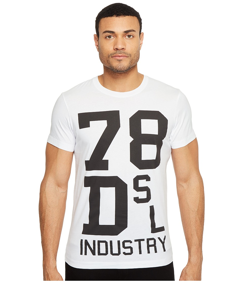 Diesel T-Diego-ND T-Shirt (White) Men