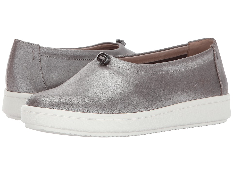 Eileen Fisher Sydney (Platinum Metallic Suede) Women