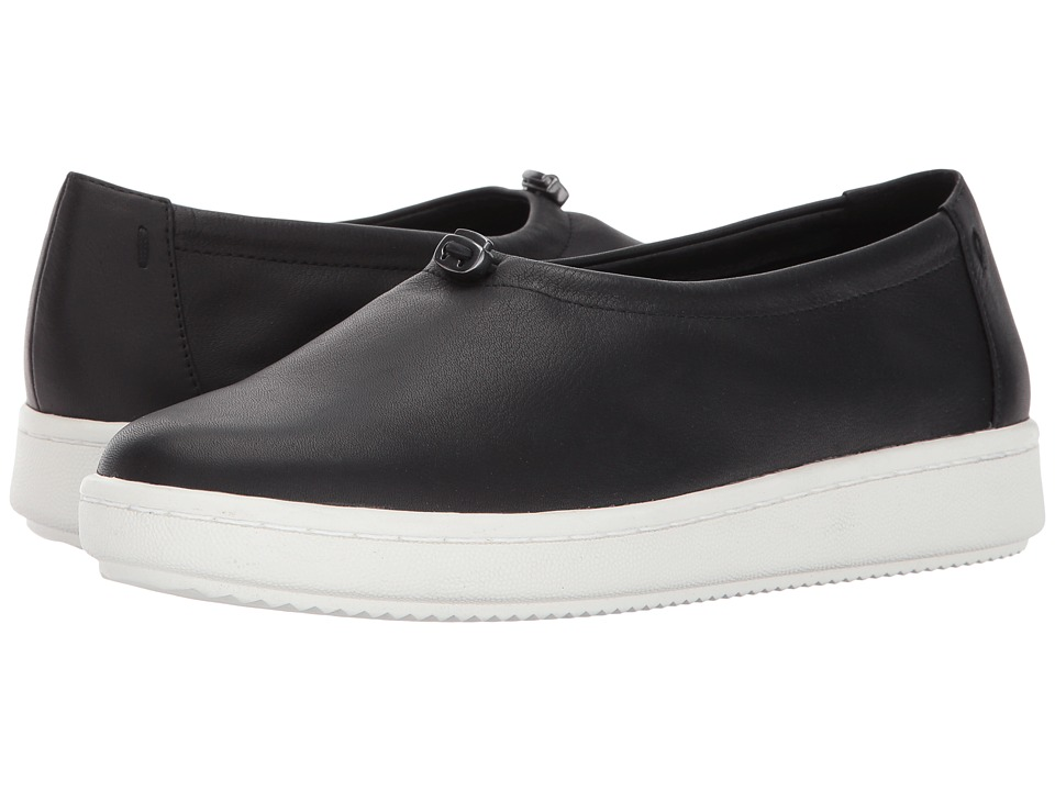 Eileen Fisher Sydney (Black Leather) Women