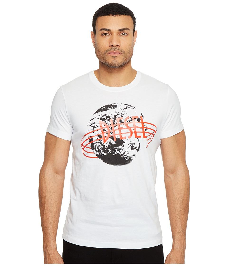 Diesel T-Diego-NC T-Shirt (White) Men