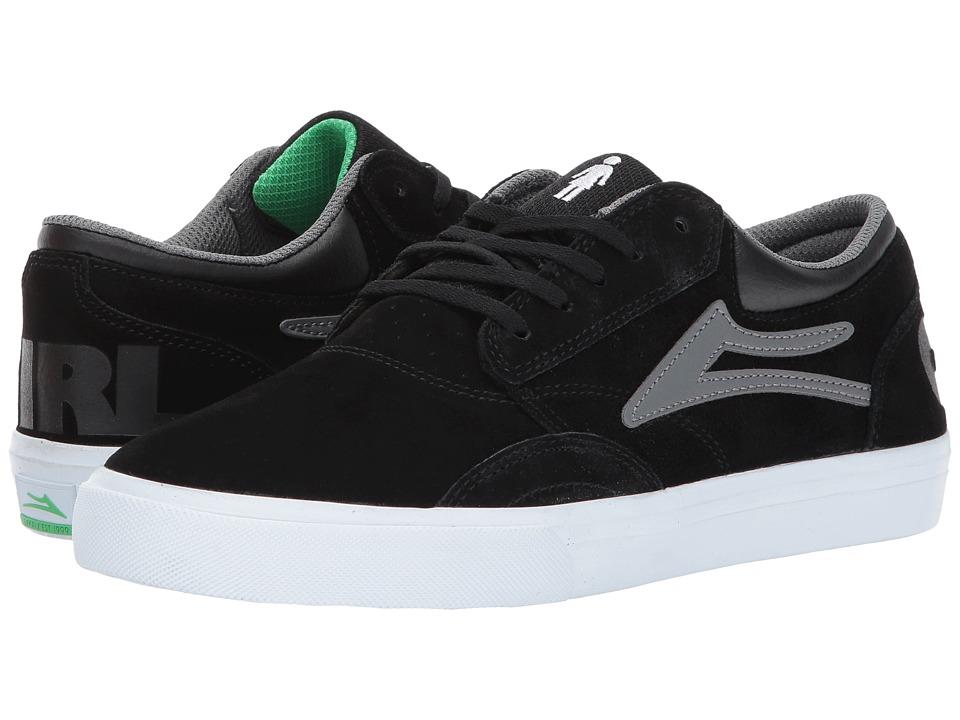 Lakai Griffin X Girl Skateboards (Black/Grey Suede 1) Men
