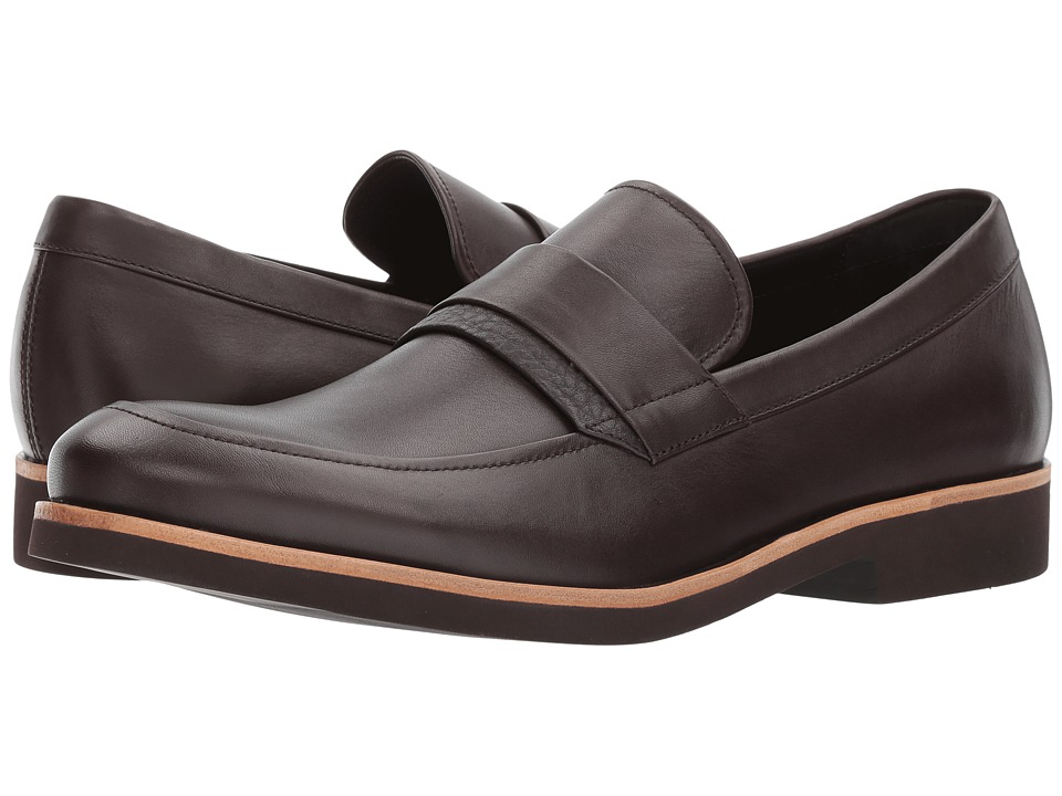 Calvin Klein Forbes (Dark Brown Dress Calf) Men