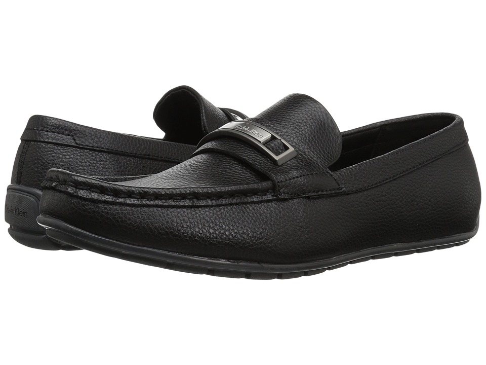 Calvin Klein Irving (Black Tumbled Leather) Men