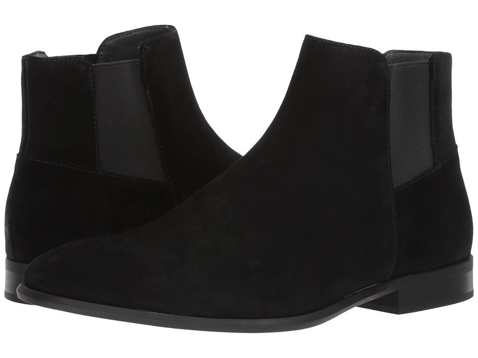 Calvin Klein Larry (Black Calf Suede) Men's Shoes