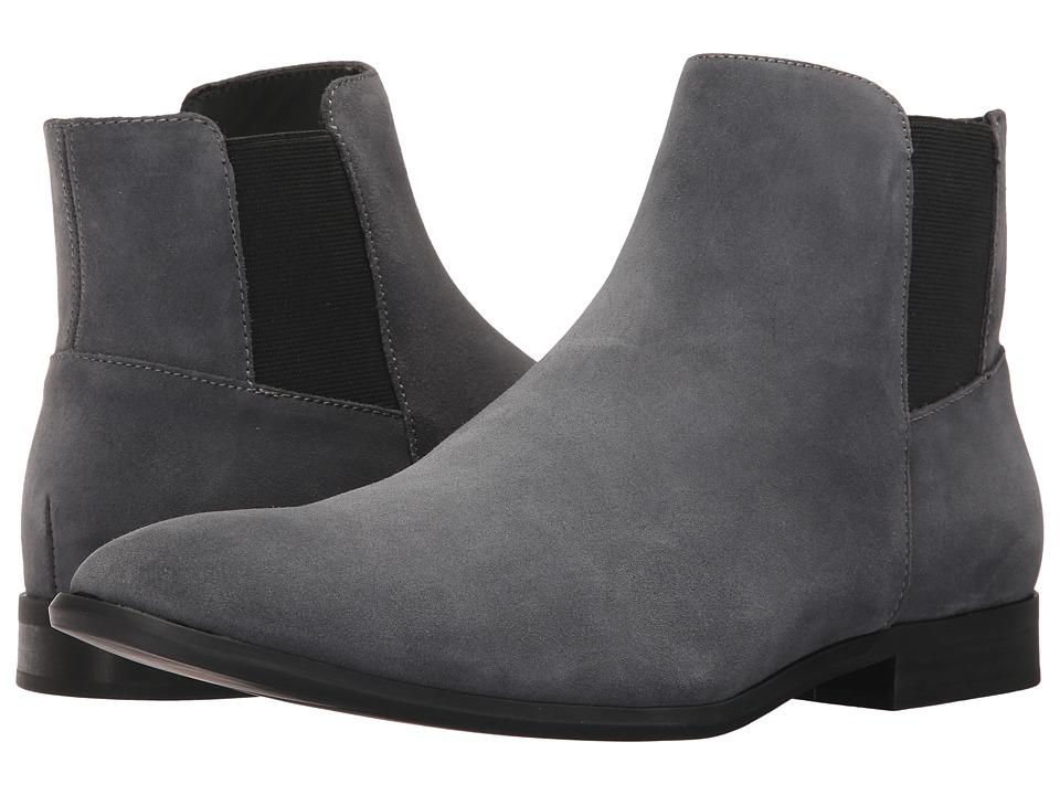 Calvin Klein Larry (Grey Calf Suede) Men's Shoes