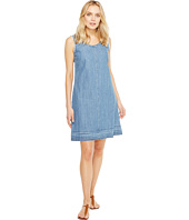 Stetson - Sleeveless Raw Edge Denim Dress