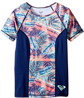 Roxy Kids - Four Shore Short Sleeve Rashguard (Big Kids)
