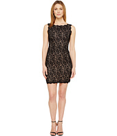 Adrianna Papell - Petite Sleeveless Lace Cocktail Dress