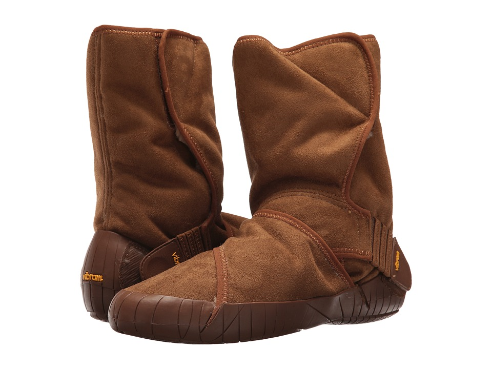 Vibram FiveFingers Furoshiki Classic Shearling Mid (Brown) Women's Shoes