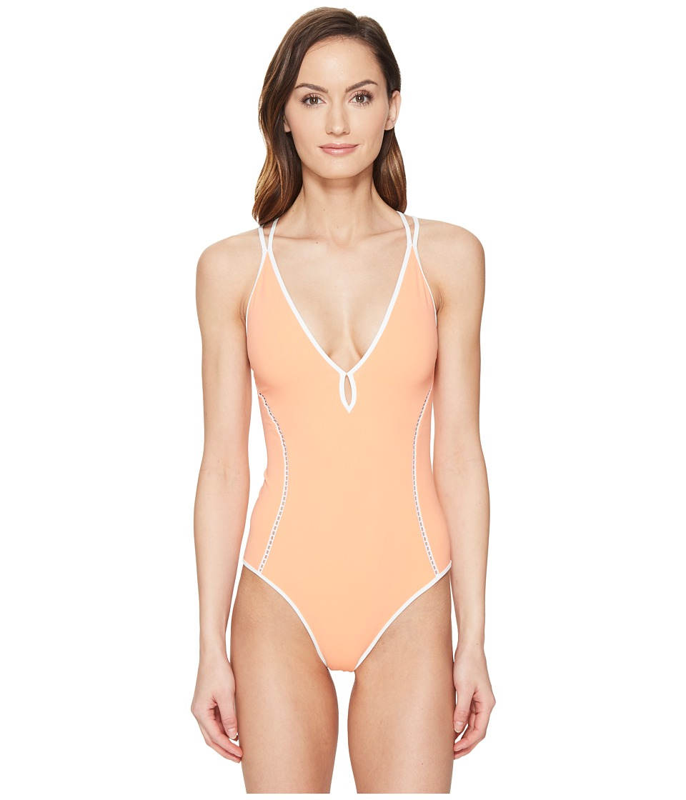 Jonathan Simkhai - Reversible Deep V One-Piece