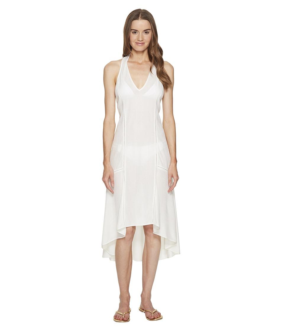 Jonathan Simkhai - Lace Racerback Flare Dress Cover