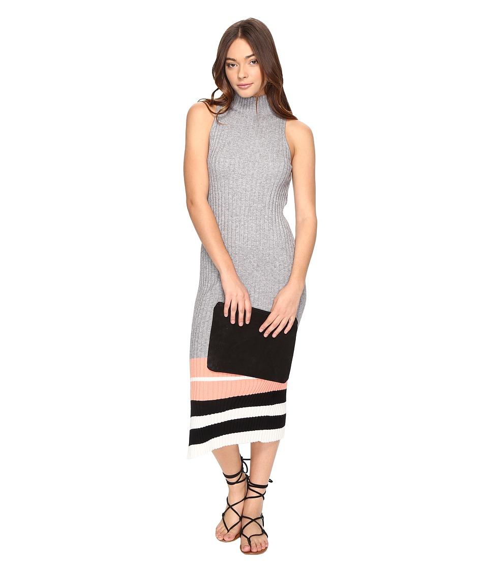 Obey Marina Dress (Heather Grey) Women