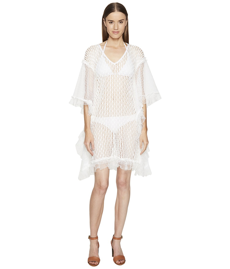 Jonathan Simkhai - Basketweave Mini Caftan Cover