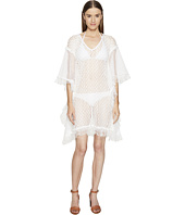 Jonathan Simkhai - Basketweave Mini Caftan Cover-Up