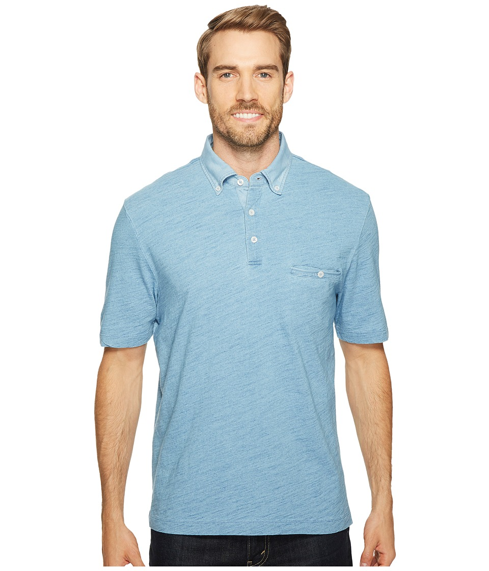 Thomas Dean & Co. - Cotton Overdye Solid Polo